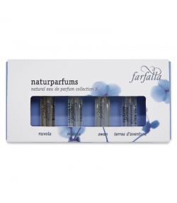 Paquet-Cadeau BIO parfums naturels Collection 3 - 4x2ml - Farfalla
