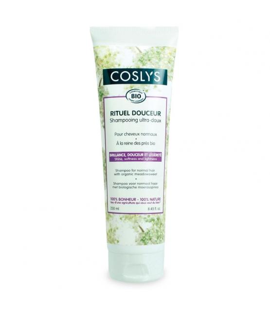 "BIO-Shampoo ultra sanft ""Rituel Douceur"" Mädesüss - 250ml - Coslys"