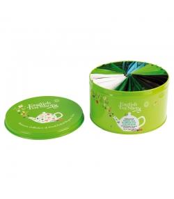 BIO-Tee-Kollektion-Geschenkdose Grün - 30 Teebeutel - English Tea Shop