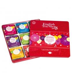 Coffret cadeau sélection vacances d'hiver de thés & infusions BIO - 72 sachets - English Tea Shop