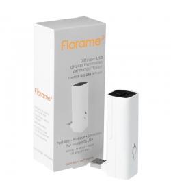 Diffuseur USB d'huile essentielle par microdiffusion - Blanc - Florame