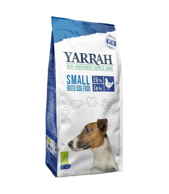 BIO-Hundefutter trocken Poulet & Getreide für kleine Rassen - 5kg - Yarrah