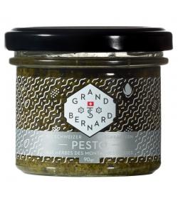 Pesto aux herbes des montagnes suisses BIO - 90g - Grand-St-Bernard