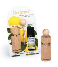 Provenzalischer Aroma Diffusor & 1 ätherisches Öl Zitrone 10ml - Florame