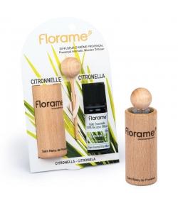Diffuseur d'arôme provençal & 1 huile essentielle Citronnelle 10ml - Florame