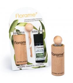 Provenzalischer Aroma Diffusor & 1 ätherisches Öl Eukalyptus 10ml - Florame