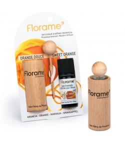 Diffuseur d'arôme provençal & 1 huile essentielle Orange 10ml - Florame