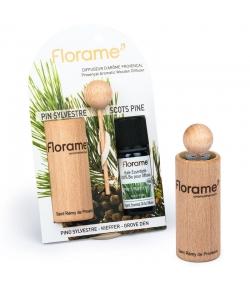 Provenzalischer Aroma Diffusor & 1 ätherisches Öl Waldkiefer 10ml - Florame