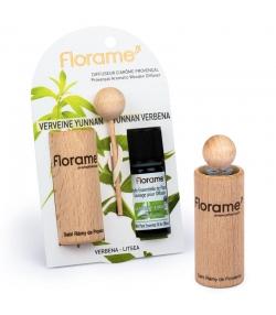 Provenzalischer Aroma Diffusor & 1 ätherisches Öl Verbene yunnan 10ml - Florame