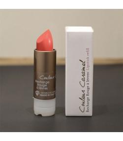 Recharge rouge à lèvres nacré naturel N°53 Rose pop - 3,5g - Signature by Couleur Caramel