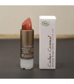 Recharge rouge à lèvres nacré BIO N°54 Beige naturel - 3,5g - Signature by Couleur Caramel