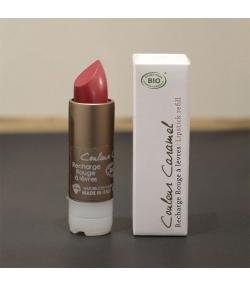 Recharge rouge à lèvres nacré BIO N°56 Voile de rose - 3,5g - Signature by Couleur Caramel