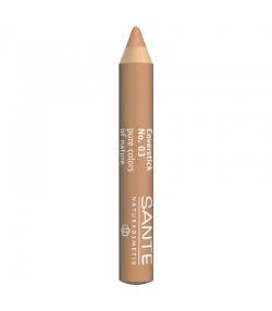 Crayon correcteur BIO N°03 Beige - 2g - Sante