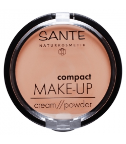 BIO-Kompakt-Foundation N°01 Vanilla - 9g - Sante