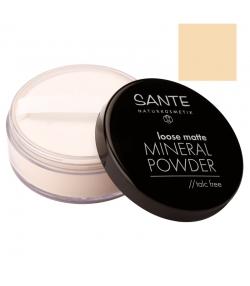 BIO-Loser Mineralpuder matt N°01 Light Beige - 12g - Sante