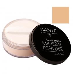 BIO-Loser Mineralpuder matt N°02 Sand - 12g - Sante