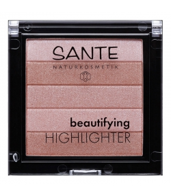 Beautifying highlighter BIO N°01 Nude - 7g - Sante