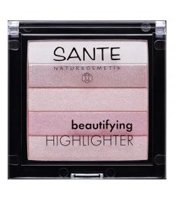 Beautifying highlighter BIO N°02 Rose - 7g - Sante