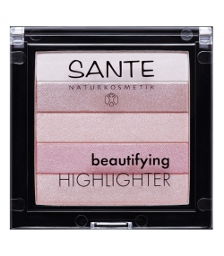 Beautifying highlighter BIO N°02 Rose - 7g - Sante