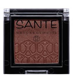 BIO-Lidschatten glänzend N°05 Sparkling Brown - 2g - Sante