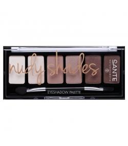 Palette ombres à paupières BIO Nudy Shades - 6x1g - Sante