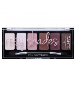 Palette ombres à paupières BIO Rosy Shades BIO - 6x1g - Sante
