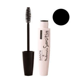 Mascara Mademoiselle Sensitive BIO N°01 Black - 8ml - Sante