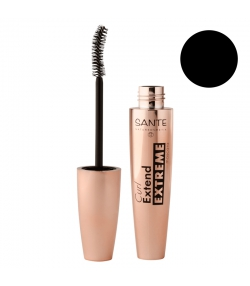 Mascara Curl Extend Extreme BIO N°01 Black - 10ml - Sante