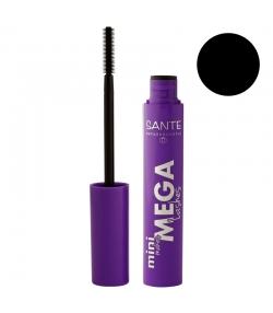 Mascara Mini Makes Mega Lashes BIO N°01 Black - 8ml - Sante