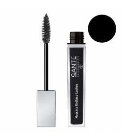 Mascara Endless Lashes BIO N°01 Black - 7ml - Sante