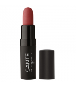 Rouge à lèvres mat BIO N°02 Pure Rosewood - 4,5g - Sante