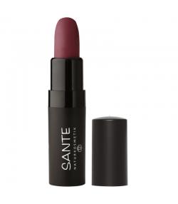 Rouge à lèvres mat BIO N°05 Catchy Plum - 4,5g - Sante