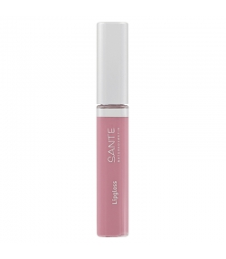 Gloss à lèvres BIO N°01 Nude Rose - 8ml - Sante