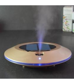 Diffuseur solaire rechargeable d'huile essentielle par ultrason - Solwheel Champagne - Zen Arôme