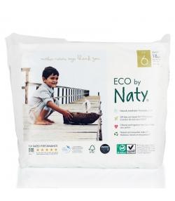 Culottes d'apprentissage écologiques Taille 6 XL 16+ kg – 1 sac de 18 pièces – Naty