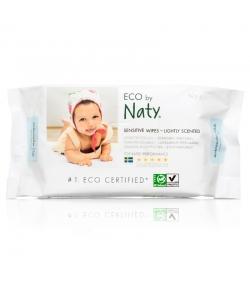 Lingettes pour bébé écologiques légèrement parfumées – 56 lingettes – Naty