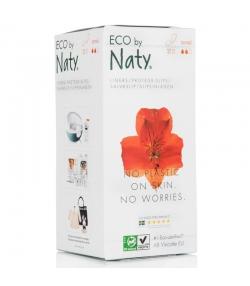 Normale BIO-Slipeinlagen für sehr leichte Blutungen - 32 Stück - Naty