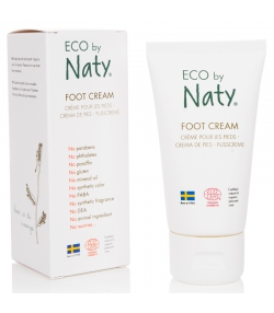 Crème pour les pieds BIO romarin - 50ml - Naty