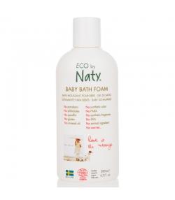 Bain moussant bébé BIO aloe vera - 200ml - Naty
