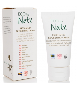 Crème de grossesse nourrissante BIO beurre de karité & olive - 50ml - Naty