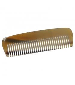 Peigne de poche en corne denture moyenne - 1 pièce - Martin Groetsch