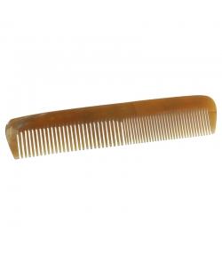Peigne en corne homme/femme denture mixte fine et moyenne - 1 pièce - Martin Groetsch