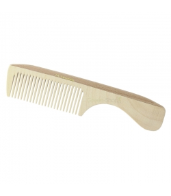 Peigne à manche en bois denture moyenne - 1 pièce - Martin Groetsch