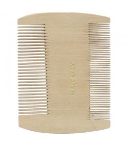 Peigne à poux en bois denture fine et extra fine - 1 pièce - Martin Groetsch