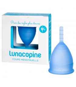 Coupe menstruelle bleue - Taille 1 - 1 pièce - Lunacopine