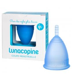 Coupe menstruelle bleue - Taille 2 - 1 pièce - Lunacopine