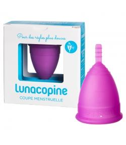 Menstruationstasse violett - Grösse 2 - 1 Stück - Lunacopine