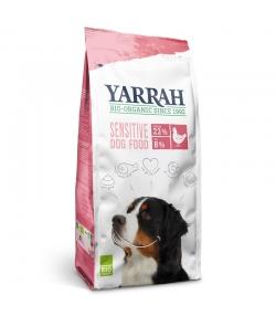 Croquettes poulet & riz pour chien sensitive BIO - 2kg - Yarrah