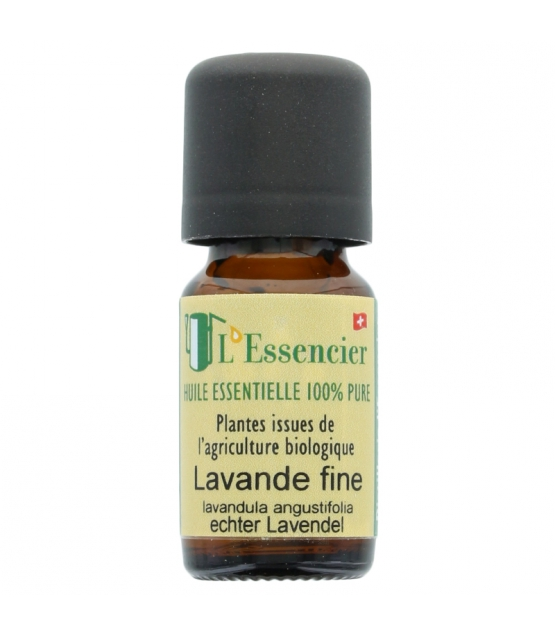 Huile essentielle BIO Lavande fine - 10ml - L'Essencier