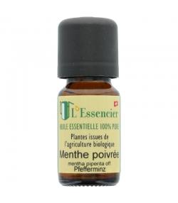 Huile essentielle BIO Menthe poivrée - 10ml - L'Essencier